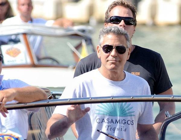 Джордж Клуни в Венеции