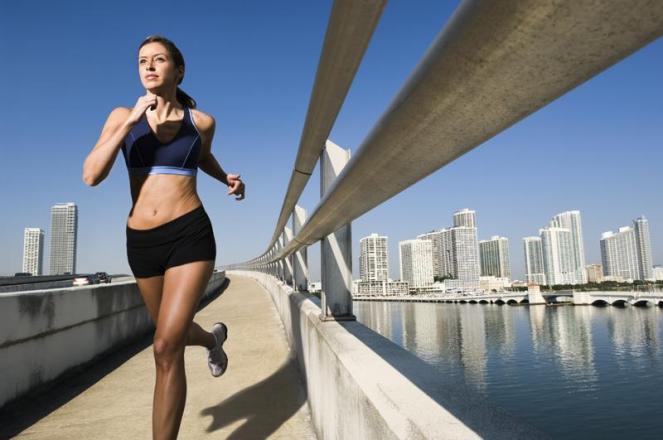 Бег и ходьба - отличный способ похудеть и укрепить здоровье