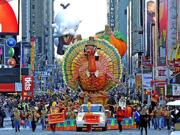 День Благодарения в США: фото прошлых лет