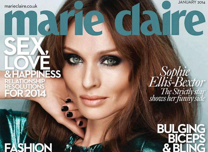 Софи Эллис Бэкстор в британском Marie Claire