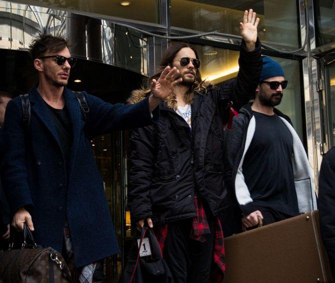 До Марса рукой подать: знаменитая рок-группа в Москве.