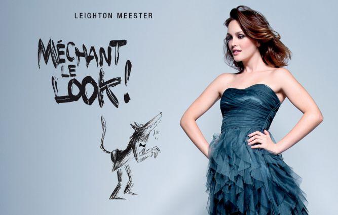 Leighton Meester снялась для Naf Naf