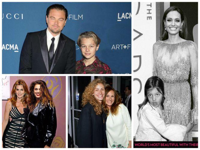 Звезды Голливуда и их юные альтер эго