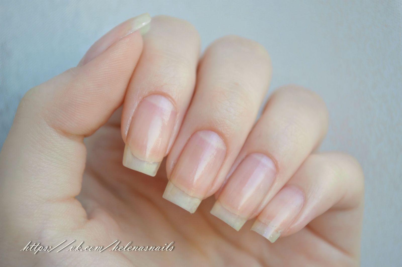 Длинные ногти за пару дней в домашних условиях