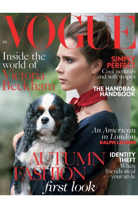 Виктория Бекхэм в британском Vogue