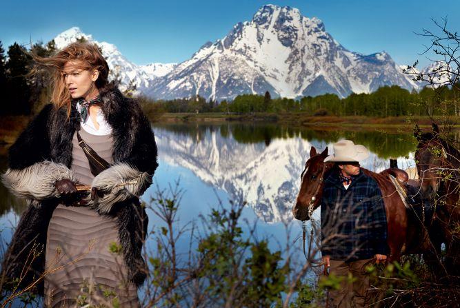 Блейк Лайвли для августовского Vogue US