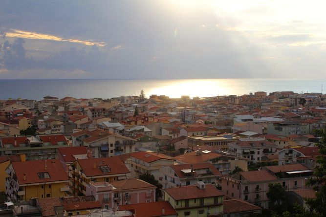Амантея. Италия.