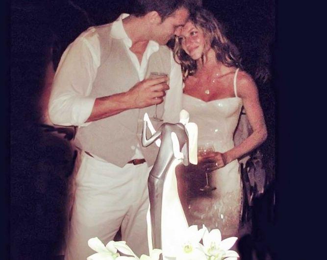 Жизель Бундхен поделилась свадебной фотографией