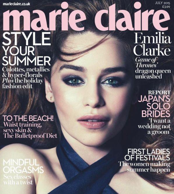 Эмилия Кларк для Marie Claire