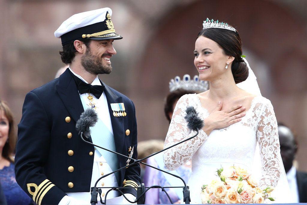 Фото со шведской королевской свадьбы