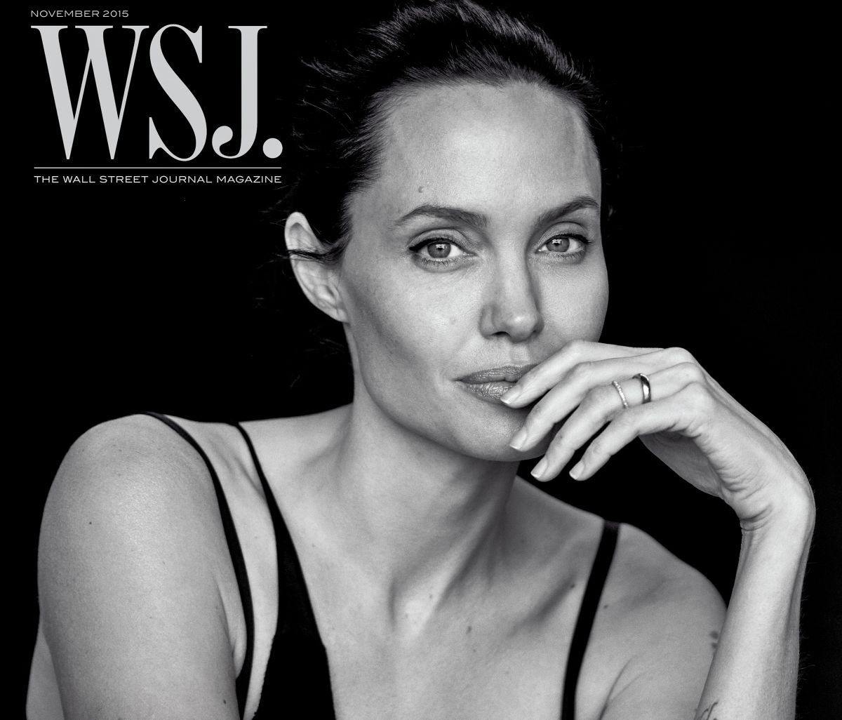 Анджелина Джоли для WSJ. Magazine