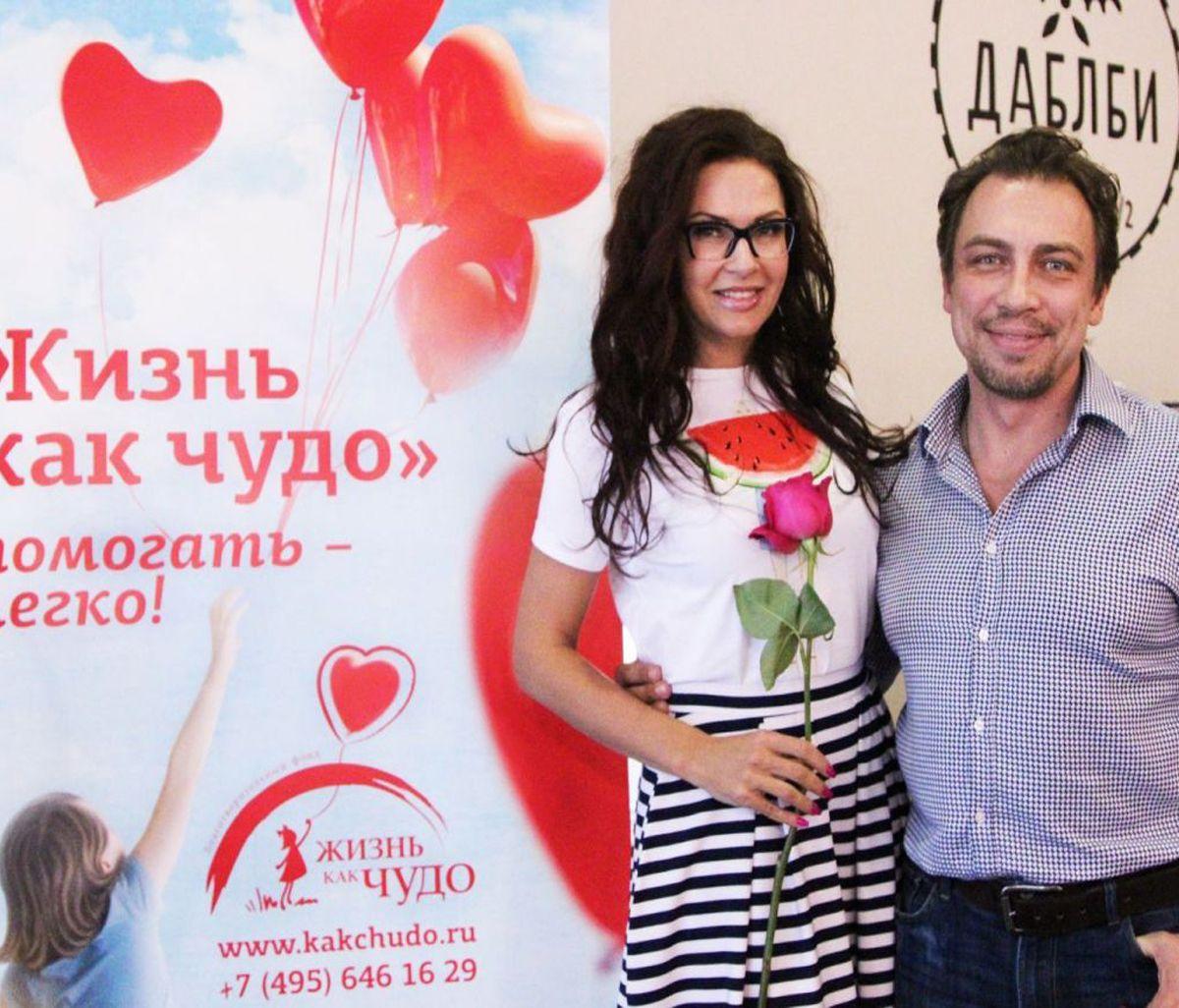 Российские артисты провели благотворительную акцию в поддержку маленьких детей