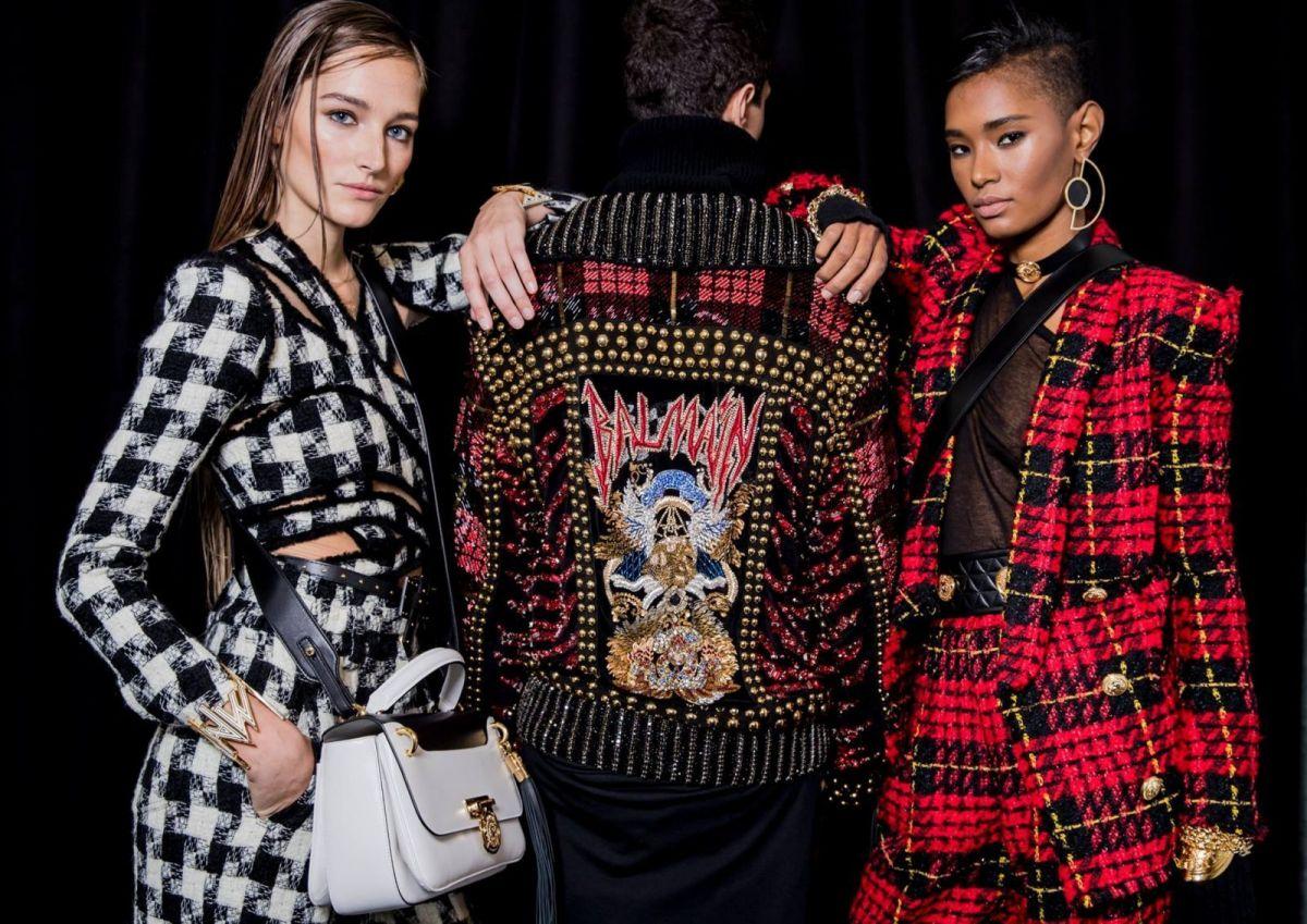 Неделя мужской моды в Париже: Balmain осень/зима 2017-18