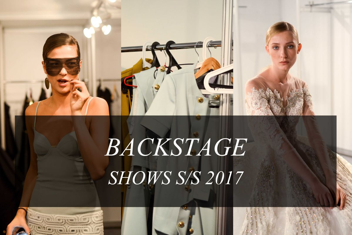 Backstage 36 сезона недели моды в Москве