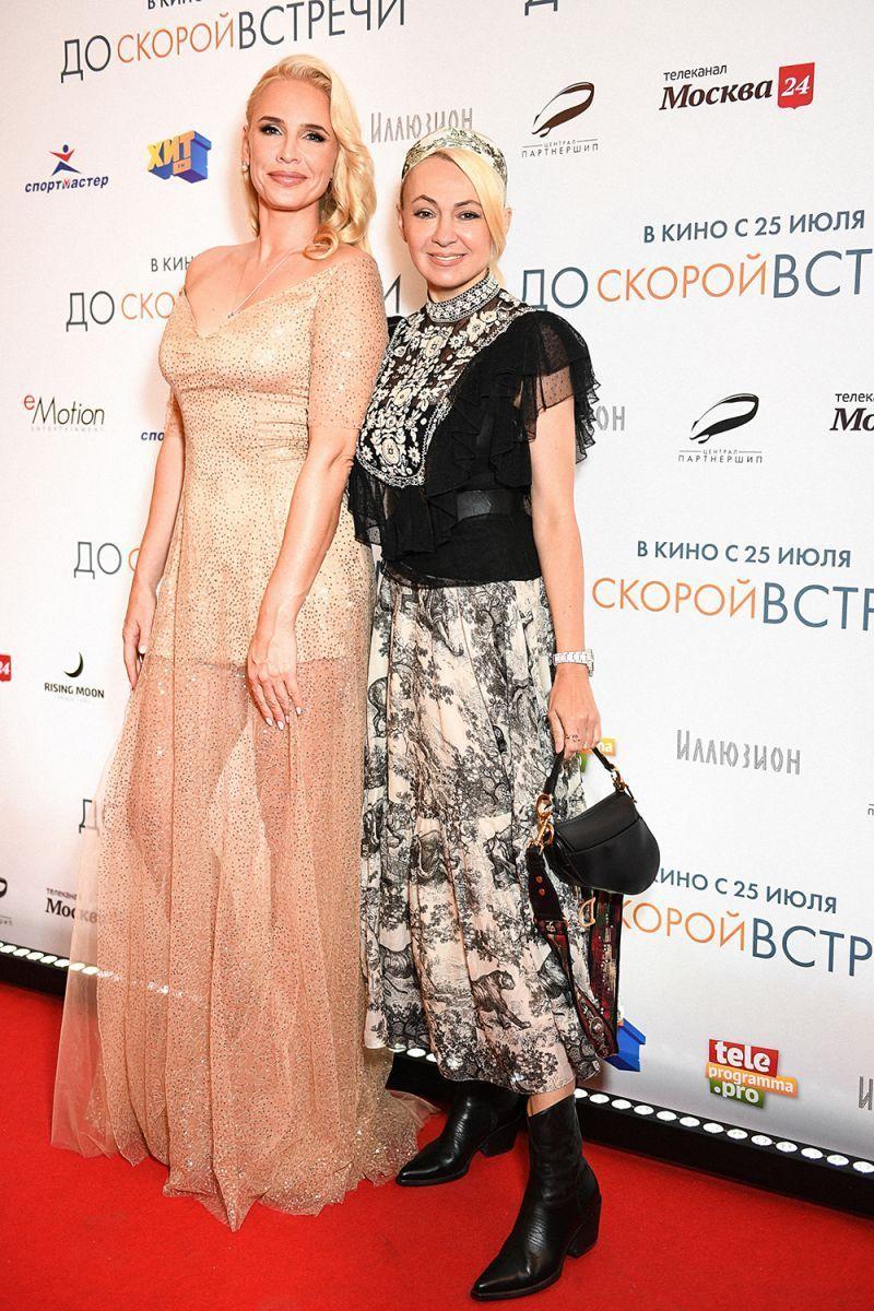 Яна Рудковская и Дима Билан окунулись в голливудскую сказку российского режиссера