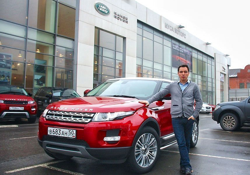 Тест-драйв: Range Rover Evoque Coupe