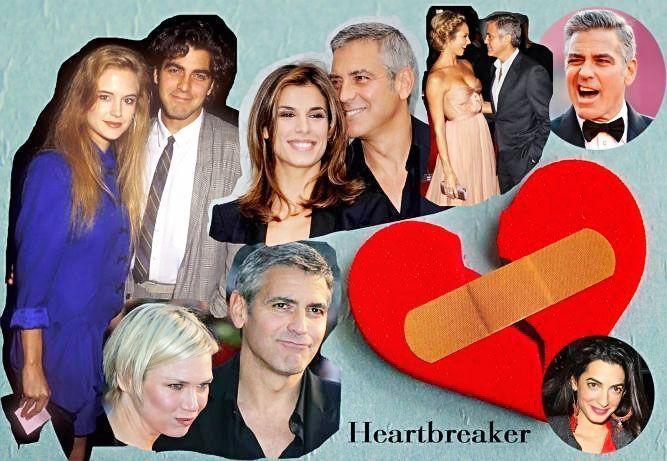 Джордж Клуни и его женщины