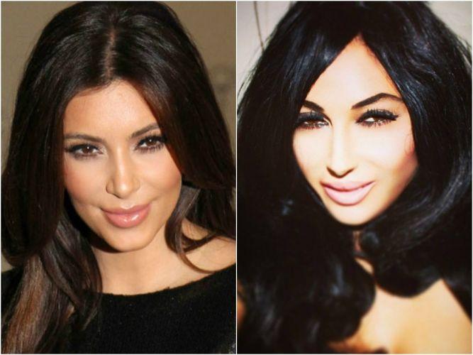 Девушка потратила более 30 000 долларов чтобы выглядеть как  Ким Кардашьян