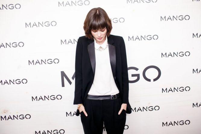 Коко Роша на показе MANGO в Москве
