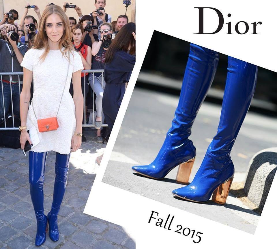 Обувь недели: сапоги Dior