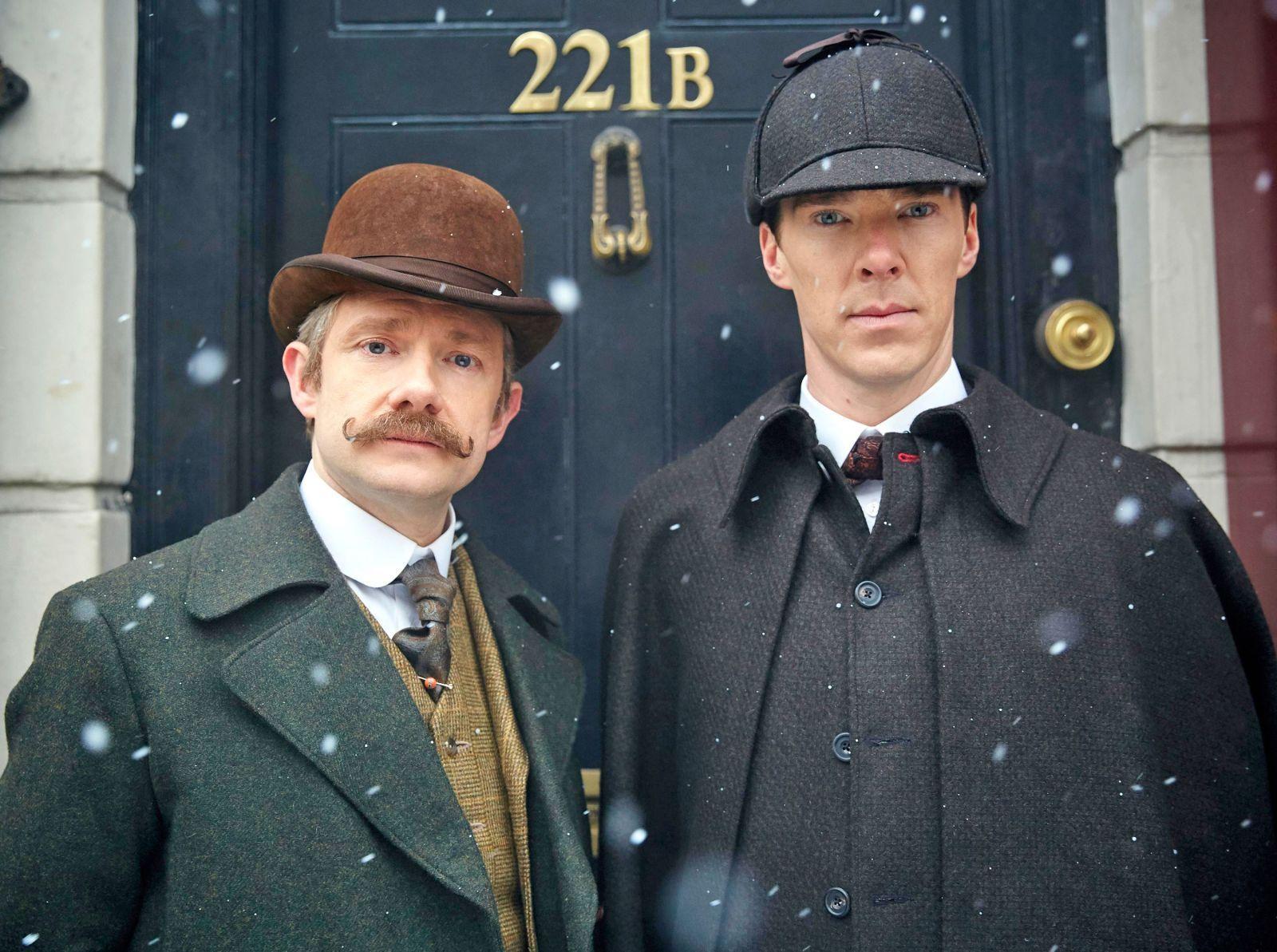 Новый фильм о холмсе на новый год