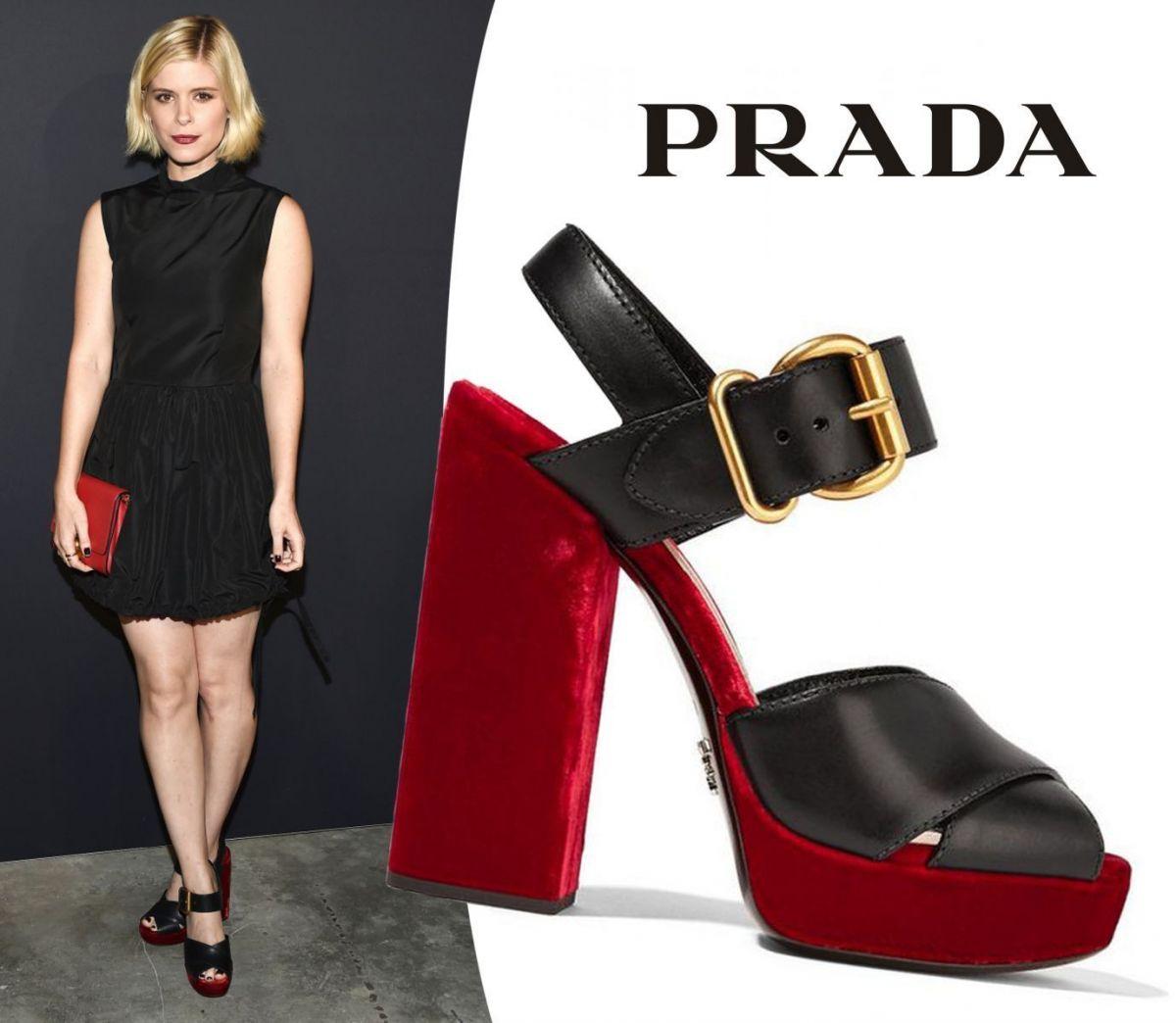 Обувь недели  босоножки Prada  e7e7ae43319d7