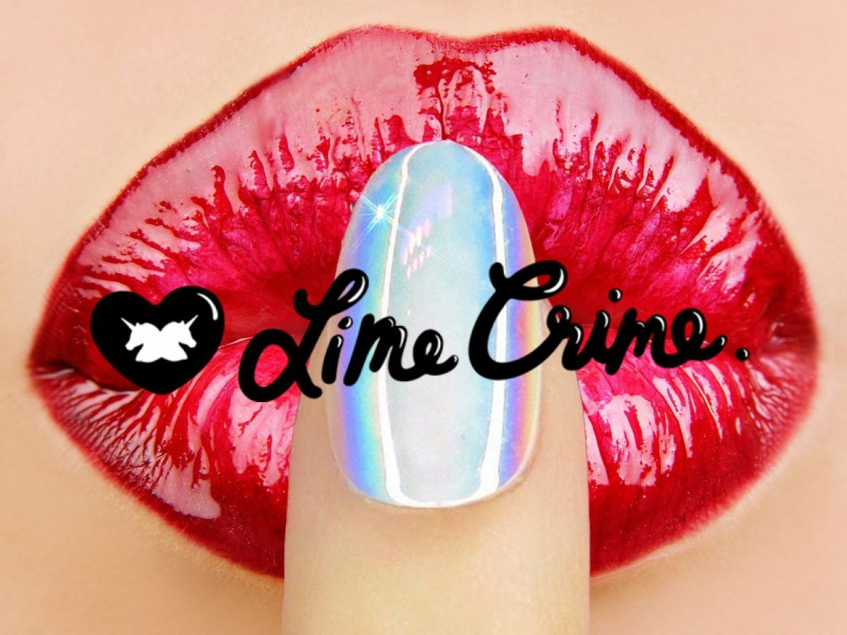 Хром и молния: Lime Crime Pop On Nails