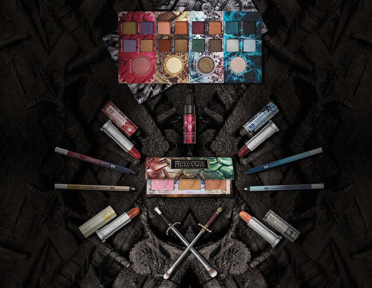 Лед и пламя: Urban Decay x Game of Thrones
