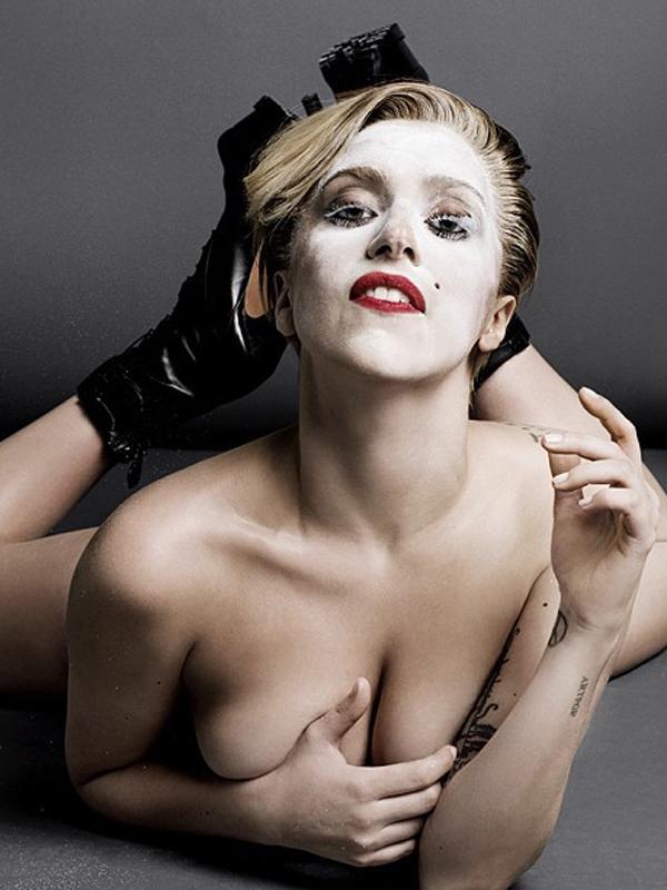 Фото lady gaga голая