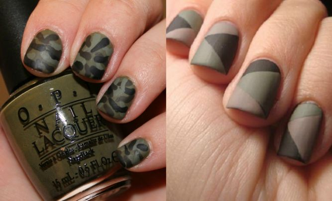 Ногти милитари