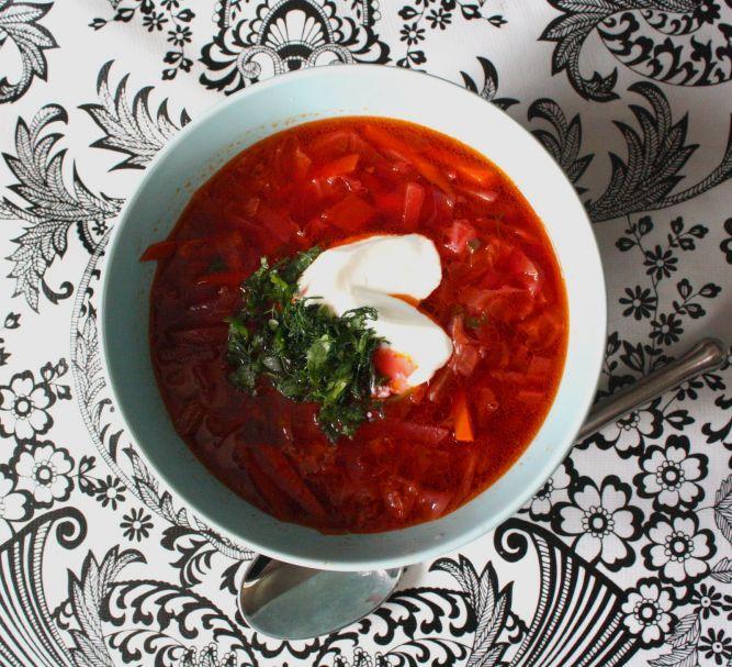 суп из капусты и свеклы