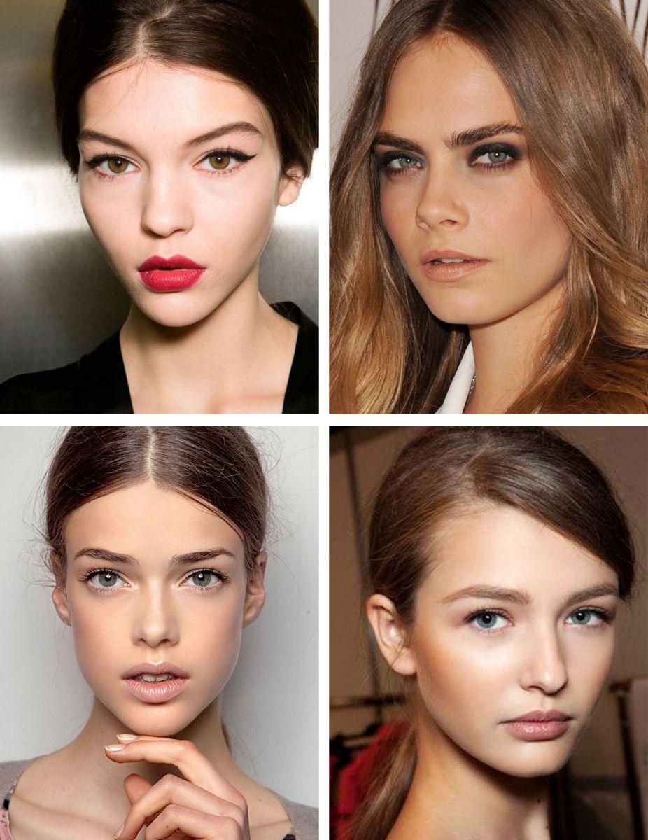 Фото разных видов макияжа