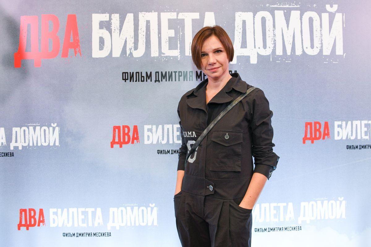 Актриса Ирина Рахманова
