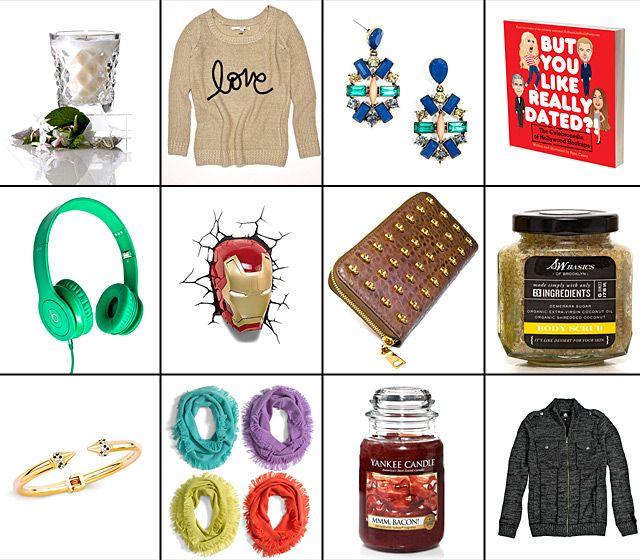 Подарки к Рождеству и Новому году от Us Weekly