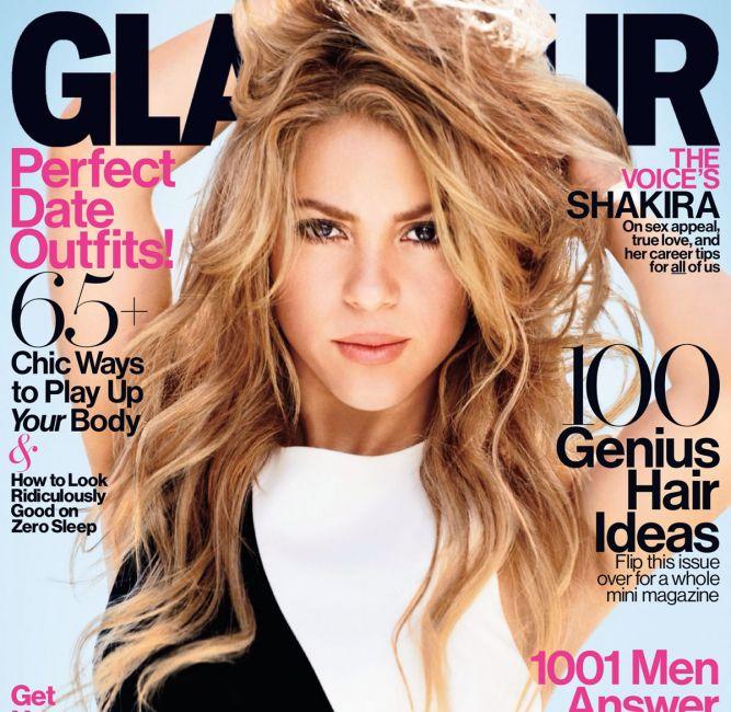 Шакира на обложке Glamour US