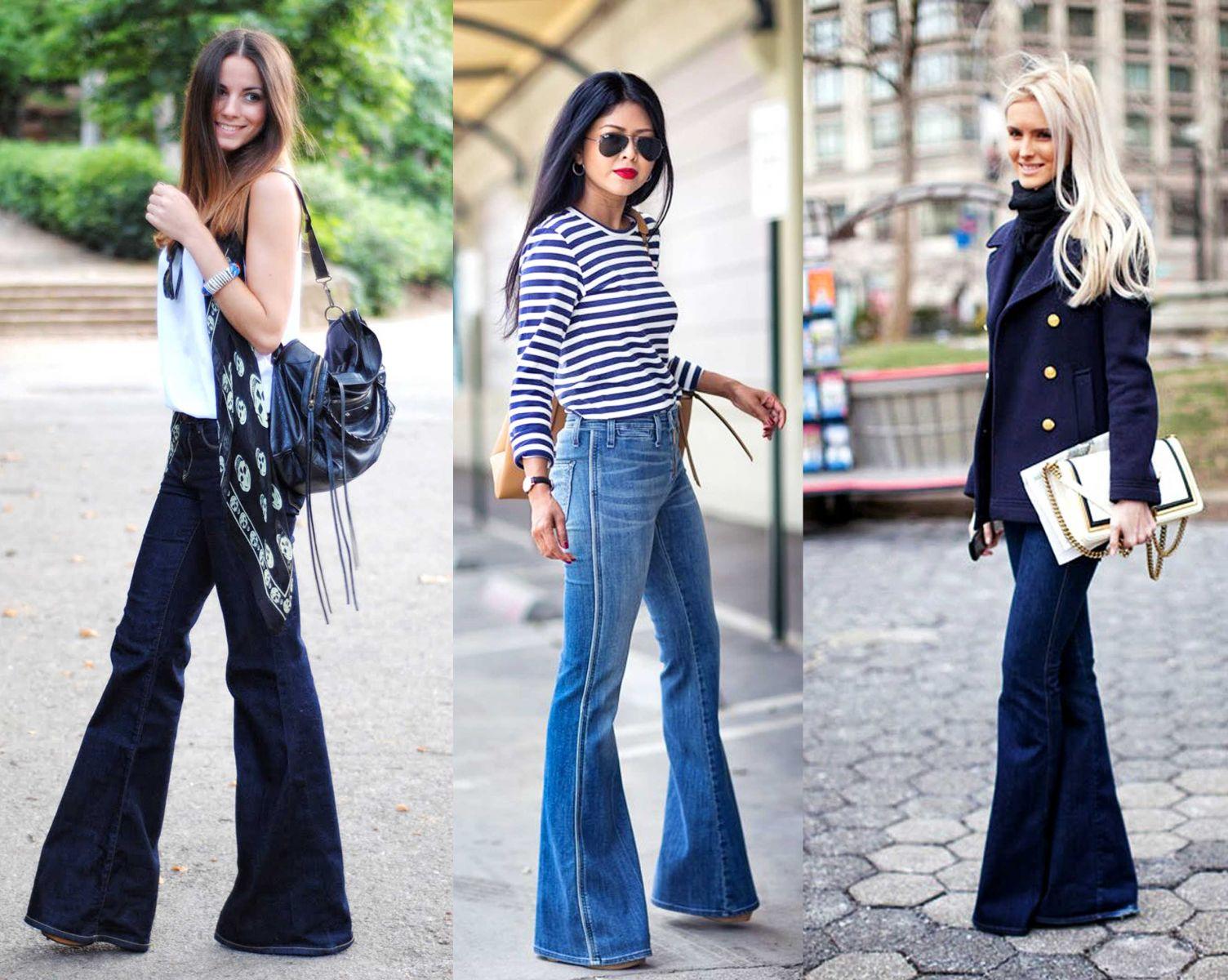 Мода 70-х: джинсы - клеш   Мода   Блоги   i-gency.ru