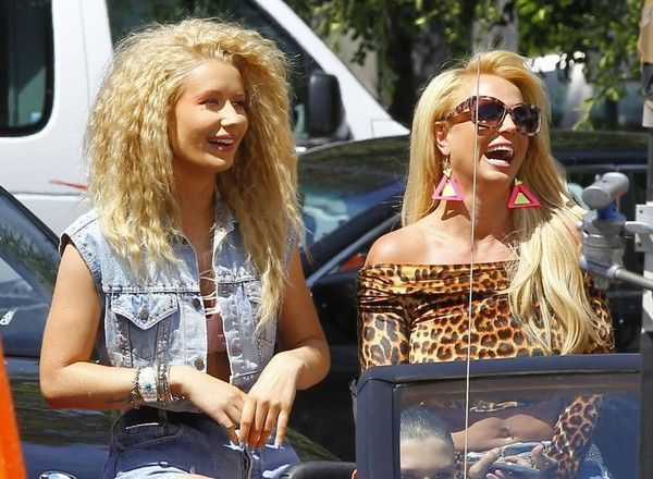 Бритни и Игги снимают совместное видео