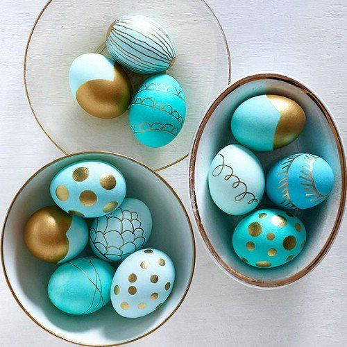 Пасхальные яйца: вдохновение и дизайны