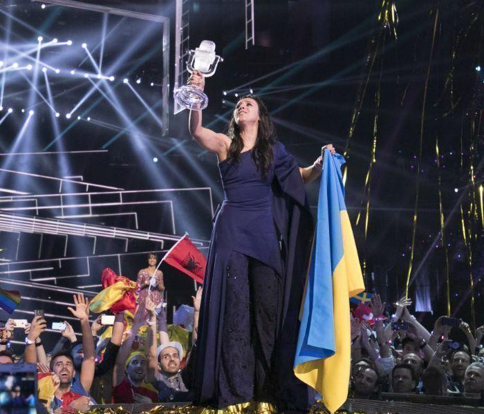 """Украина выиграла """"Евровидение-2016"""""""